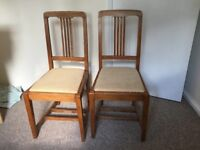 Set of 3 chairs for sale - £30