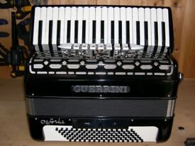 Guerrini Oxford 3, 4 Voice, Musette Tuned, 96 Bass, Piano Accordion.