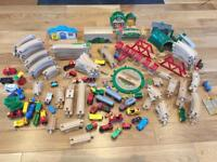 Original Brio train/track collection...150+ pieces