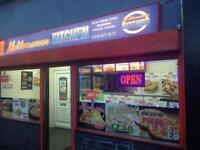 For rent runıng pizza kebap takeway 07474100014