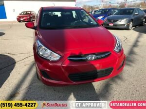 2017 Hyundai Accent GL   ONE OWNER   HEATED SEATS