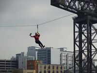 Zip Slide across the River Clyde for Ronald McDonald House Glasgow