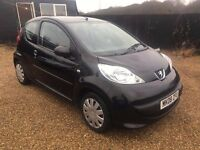 PEUGEOT 107 1.0 URBAN 3DR 2008 IDEAL FIRST CAR CHEAP INSURANCE AND ONLY £20 ROAD TAX A YEAR