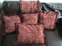 Goose feather cushions