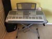Yamaha P8R E403 Keyboard & Accessories
