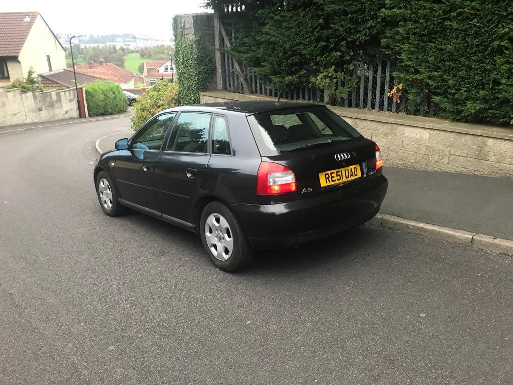 audi a3 1 9 tdi 2002 black 5 dr 12 months mot 750 in hengrove bristol gumtree. Black Bedroom Furniture Sets. Home Design Ideas