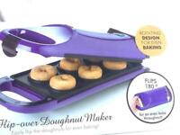 Giles & Posner Brand new Electric Flip Over Doughnut Maker for Fun Cooking,
