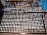 Plastic coated wire racking frame for jewellery
