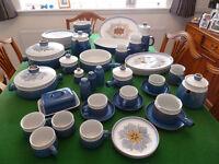 44 piece Denby Chatsworth Dinnerware