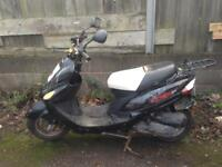 PULSE SCOUT 50 DIRECT BIKES SCORPION 2012 PROJECT BREAKING PARTS SPARES & REPAIRS