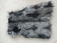 Faux Fur Gilet, no tags but never worn, h&m, raccoon Fur pattern, size 10. Must go!