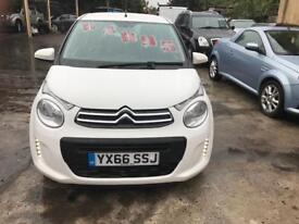 Citroen c1 1.0 feel 2016 in stunning white with only6000 miles