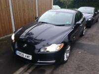 2008 08reg Jaguar XF Luxury 2.7 Tdv6 Black Fully Loaded