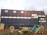 1993 MAN horse lorry
