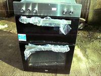 BEKO BUILT IN DOUBLE ELECTRIC COOKER NEW 12 MONTHS WARRANTEE