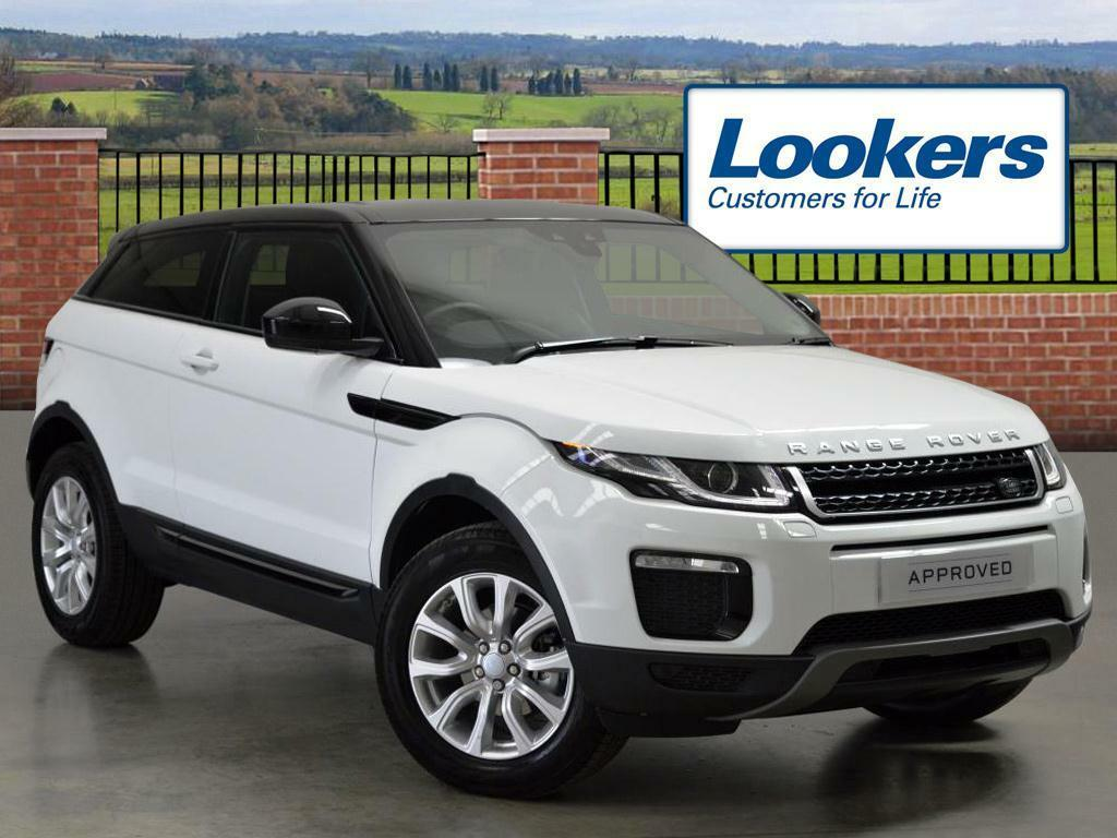 land rover range rover evoque ed4 se tech white 2016 05 11 in london gumtree. Black Bedroom Furniture Sets. Home Design Ideas