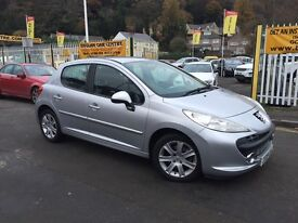 PEUGEOT 207 1.6 HDi FAP Sport 5dr (silver) 2009