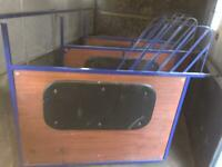 Horse partitions x 3, Rear Gates and rails