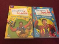 Mr Tumble children's DVDs £1.50 each