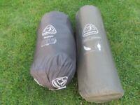 Camping Sleeping Bag and Self Inflating Sleep Mat
