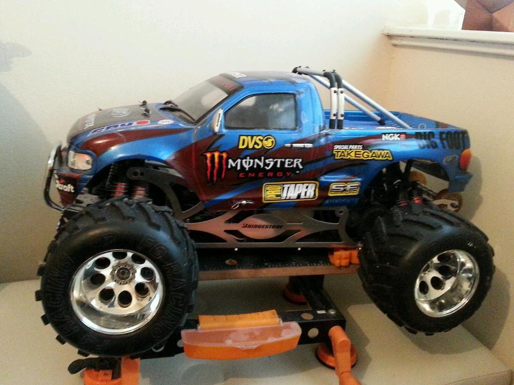 Fg Monster Truck 1 5 Scale 2 Stroke Rc In Bransholme