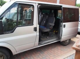 2x Bench seats from 2005 transit tourneo VERY comfortable