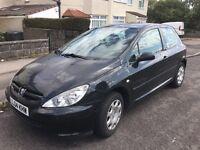 Peugeot 307, ENVY 2004, 1,4 petrol, 12 months MOT, available from 1st of September