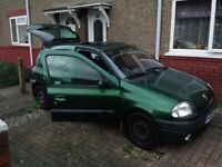 RENAULT CLIO 1.4 PETROL 16v GREEN Kings Lynn Norfolk