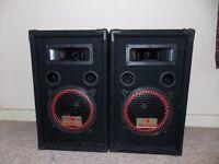 2x Auna 250W Speakers - Superb condition £60 ONO