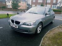 BMW 5 Series 520D Auto diesel Superb history V low miles Immaculate inside out £3999 Audi golf