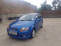 12 Months MOT,45k Low Mileage,Chevrolet Kalos £1200(like Vw,BMW,honda, Astra,ford,Vauxhall,Corsa)