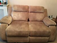 electric recliner armchair and settee