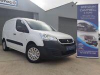 Peugeot, PARTNER, 850KG S L1 Panel Van, 2016, Manual, 1560 (cc)