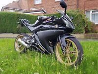 Yamaha YZF R125, In great condition, 1 years MOT, Ride away bargain!