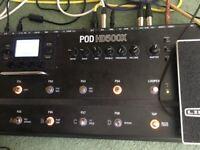 Line 6 Pod HD500X Multi Effects Unit SUPERB !