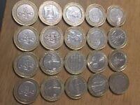 Collectible £2 coins