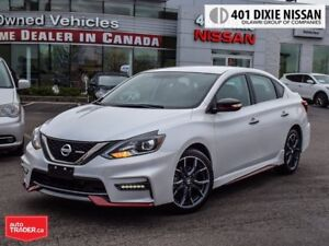 2017 Nissan Sentra NISMO 1.6 TURBO|  6SP|  NAVI| REARCAM| 18 ALL
