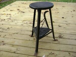 Vintage black stool