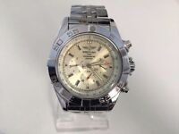 New Breitling Chronometre Stainless steel automatic watch