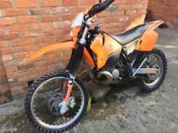 Ktm exc200 egs autolube Enduro long mot exc 200 not 125 sx crosser road registered v5