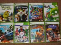 xbox 360 and wii games (pics in ad)