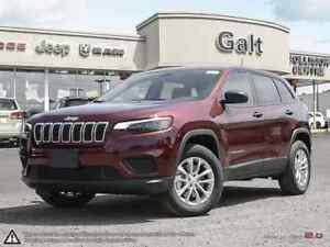 2019 Jeep New Cherokee SPORT 4X4 | 0% UP TO 72 MONTHS OAC*