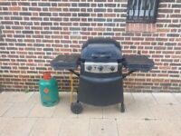 BLOOMA New York 3 Burner Gas with Side Burner BBQ WITH EXTRA BALLON OF GAS EXCELLENT CONDITION