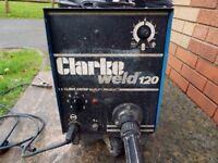 Clarke weld120 Professional Mig Welder