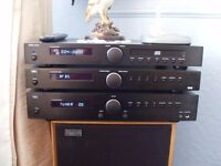Tibo amp, dab/fm tuner,cd player and celestion Ditton 22 speakers