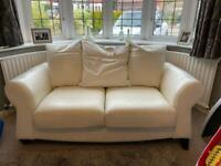 2 seater sofa - leather