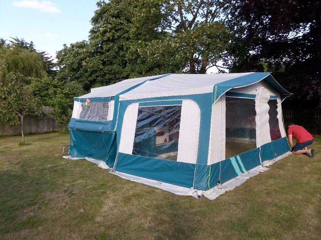 Pennine Fiesta Trailer Tent Built Well In 1997 Awning