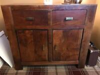 Acacia wood - small sideboard