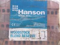 Hanson red building bricks Woodstock blend reserve 452 in a pack 19 packs available