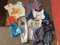 Baby Boys Clothing Bundle 12-18mths